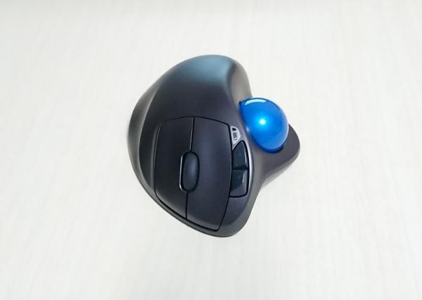 Logicoolのトラックボール「M570t」